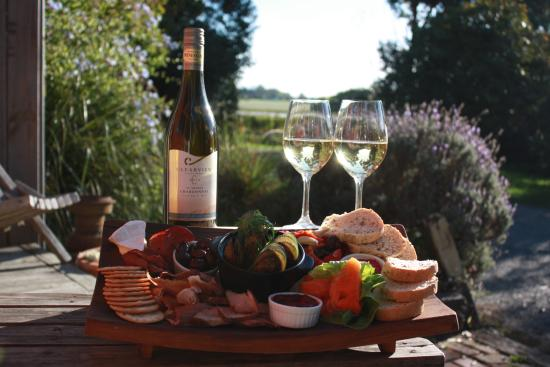 Red Shed Restaurant: Chardonnay sunset platter