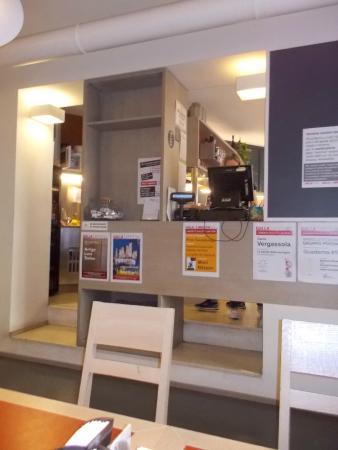 Galla Caffe: Vista de parte de la cafetería