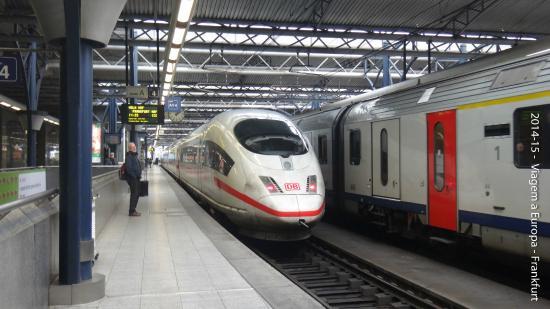 ปารีส, ฝรั่งเศส: Trens limpos e pontuais