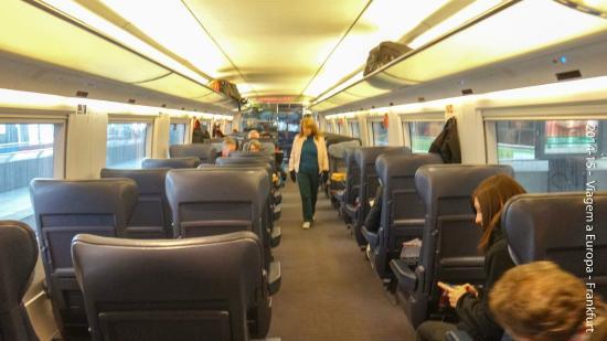 ปารีส, ฝรั่งเศส: As poltronas mais parecer a primeira classe de um avião