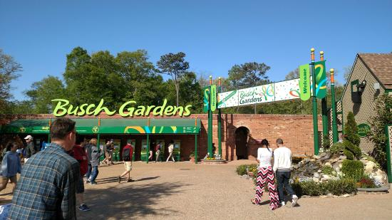 Main entrance Picture of Busch Gardens Williamsburg
