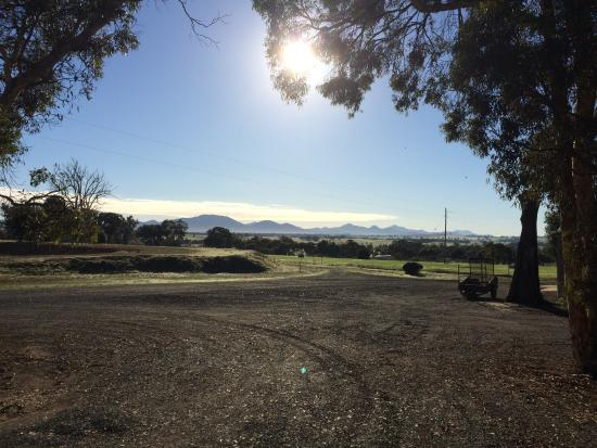 Kendenup Australia  city photos gallery : Kendenup, Australia: View from the porch of the green family cottage ...