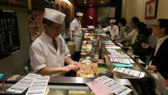 Tachigui Sushi Uogashi Nihonichi Shibuya Center