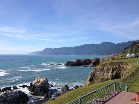 Inn of the Lost Coast: View from our room