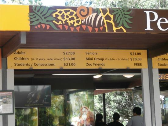 how to get to perth zoo