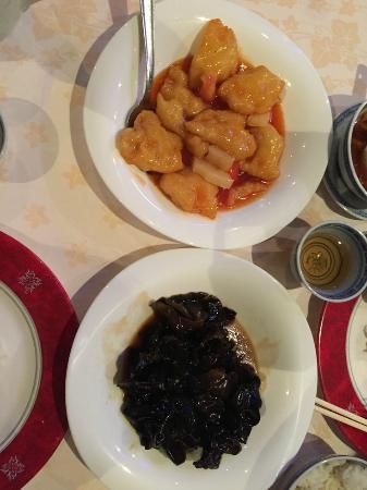 Cinese Nin Hao: Sweer and Sour Fish and Mushroom