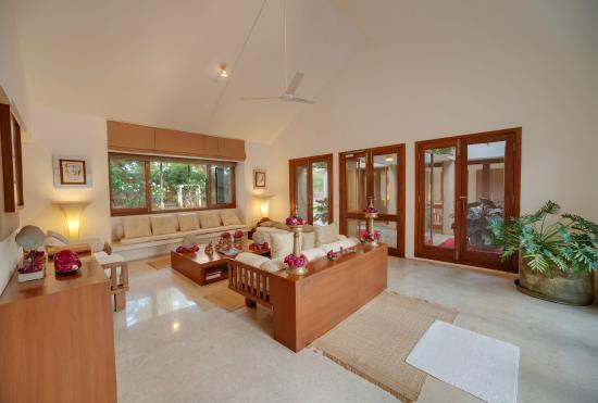 The Living Room cum Reception - Picture of Shreyas Yoga Retreat ...