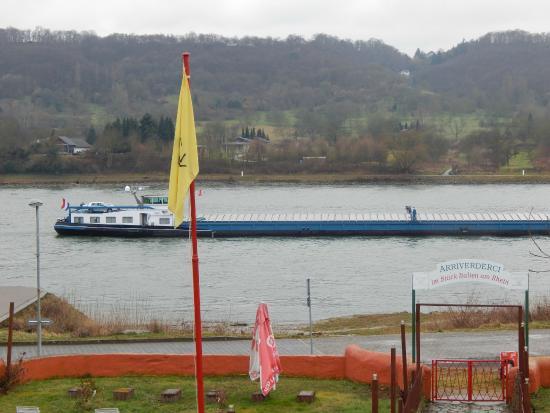 Rheinhotel Bellavista: view from room