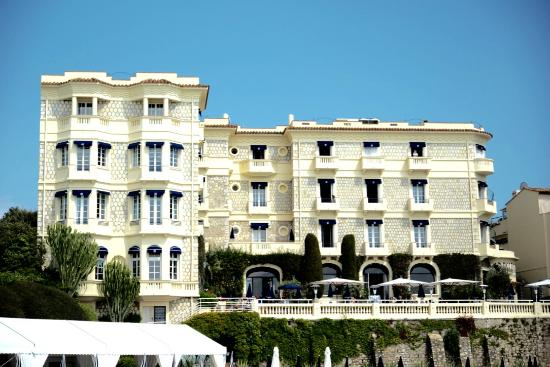 Terras picture of hotel belles rives juan les pins for Hotels juan les pins