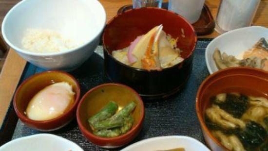 Dormy Inn Niigata : 朝食