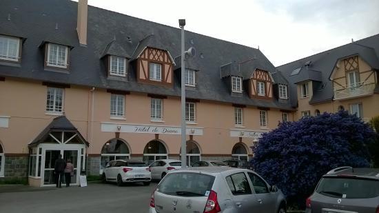Hotel de Diane : La façade de l'hotel