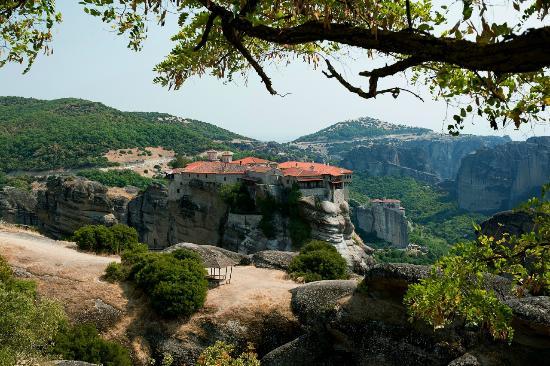 Kastraki, Griechenland: В Меторах