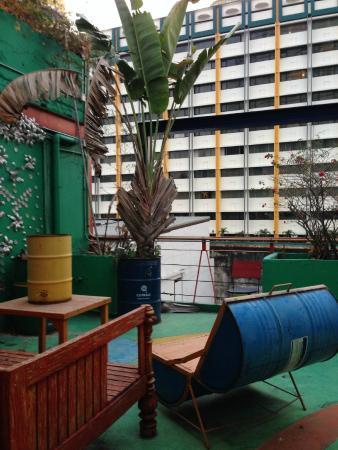 Silom Art Hostel: โรงแรมและบริเวณโดยรอบ