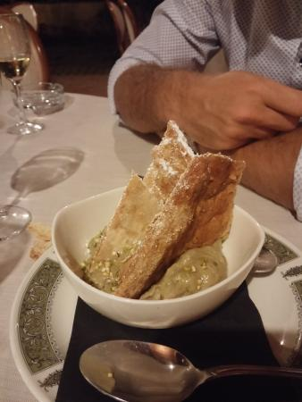 Ribot Olgiata: Sbriciolata al pistacchio di bronte
