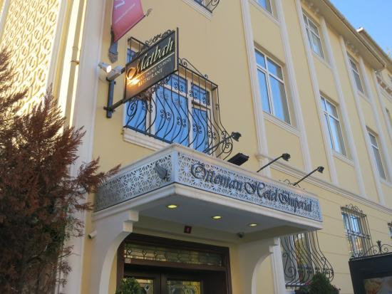 Ottoman hotel istanbul 2018 world 39 s best hotels for Santa ottoman hotel