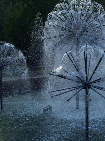 Pushkin Boulevard: фонтан