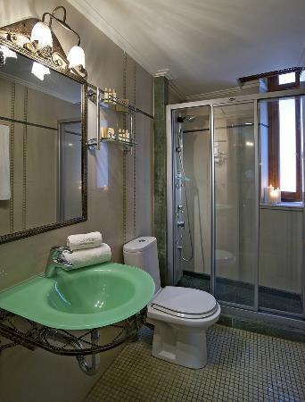 Ionas Boutique Hotel: Shower