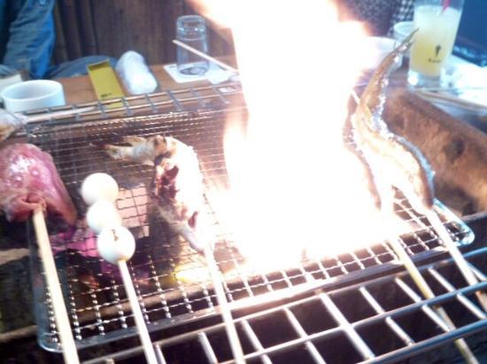 Gonsuke: 炭火