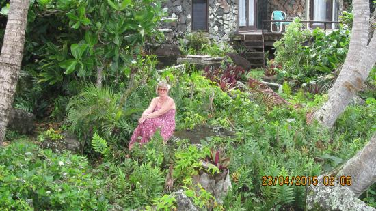 Muri Beach Cottages: The Gardens