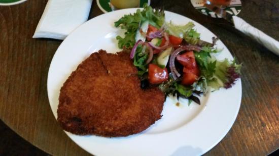 3 Wise Monkeys: Chicken Schnitzel with Salad (no chips)