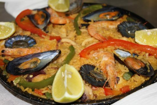 Restaurante Aristides: Paella.