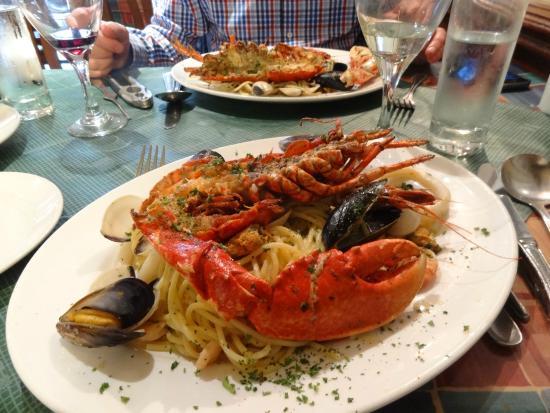 Bar Napoli: Spaghetti lobster