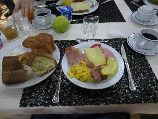 Hotel Congreso: 朝食
