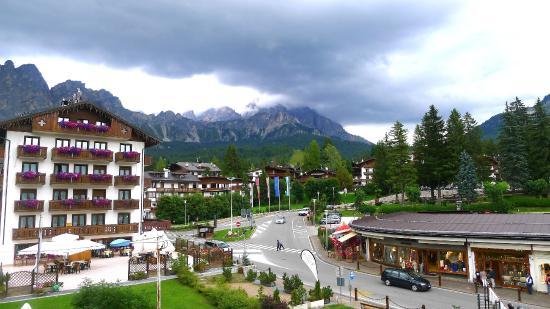 Regina Hotel: vue à partir de notre chambre