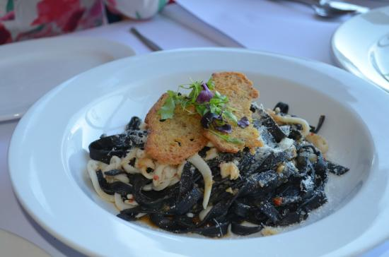 Peter Doyle @ The Quay: Black ink squid pasta