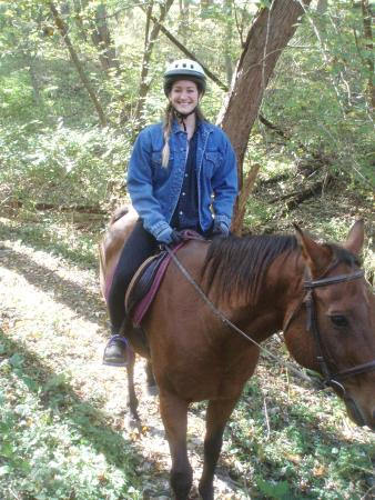 First Farm Inn Horseback Riding : Learning about yourself is a side benefit of centered riding.
