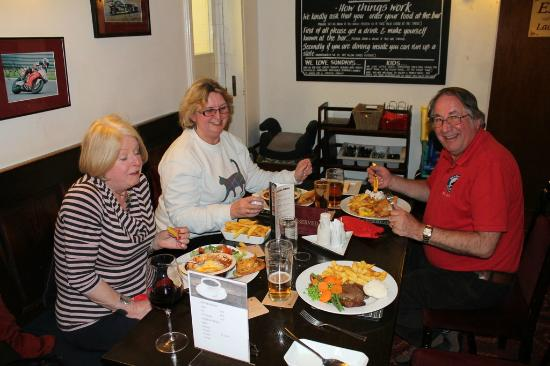 Red Lion Inn - Little Budworth: Great dinner
