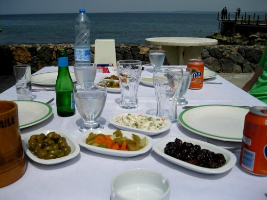 Restaurant Mardin: Mezze
