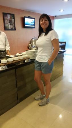Tavisha Hotel: Hotel Tavisha, al desayuno