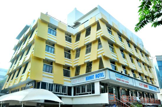 Kamat's Hotel Mayura: View from outside