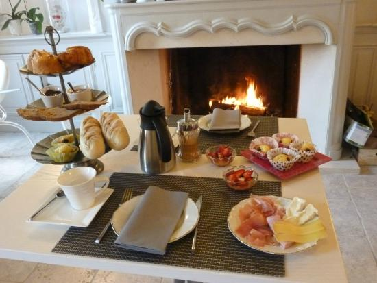 Hôtel La Suite : Petits déjeuner
