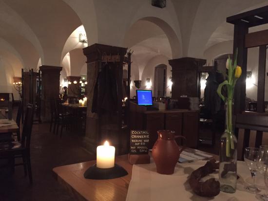 Gästehaus Kloster Eberbach: Im restaurant