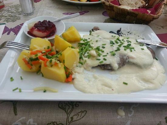 Insel Bastei: sehr gutes Essen