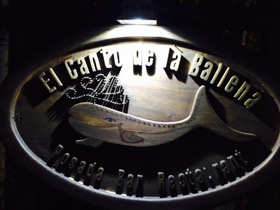 El Canto de la Ballena: Desde la entrada