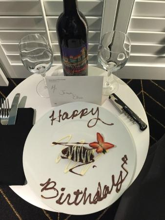 Nice touch on birthday wishes