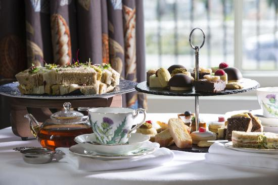 Links House at Royal Dornoch: Afternoon Tea at Links House