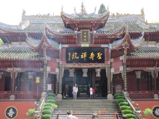 Shengshou Temple: 本堂(一番奥ではない)
