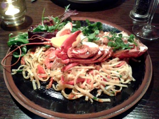 MAZE Restaurant: DELICIOUS! (Lobster Thermidor)