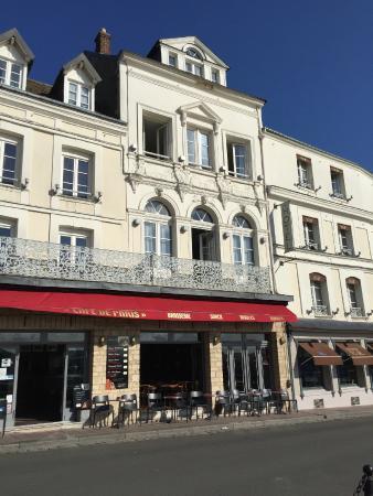 La Facade De L Hotel Photo De Best Western Le Cheval Blanc Vieux Port Honfleur Tripadvisor