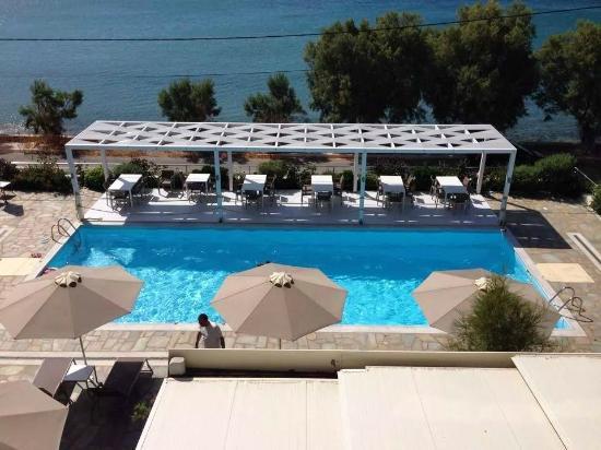 Anastasia Hotel Karystos: Όμορφη θέα