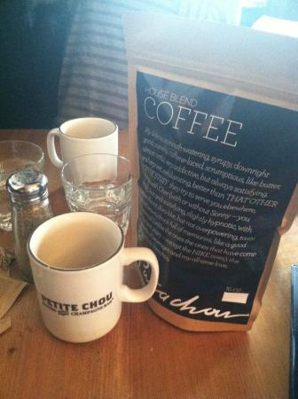 """Petite Chou: The """"Danish Pastry"""" coffee was divine...had to take a bag home"""