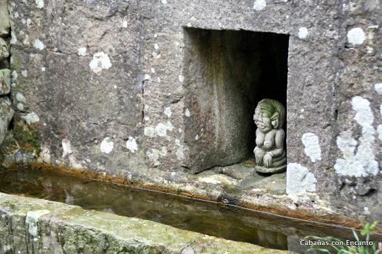 San Roque de Riomiera, España: Incluso el exterior está cuidado