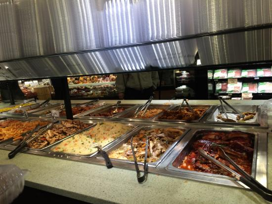 Lunch food bar picture of fulton deli new york city for Food bar new york city