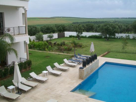 Villa Agapanthe: zwembad met uitzicht