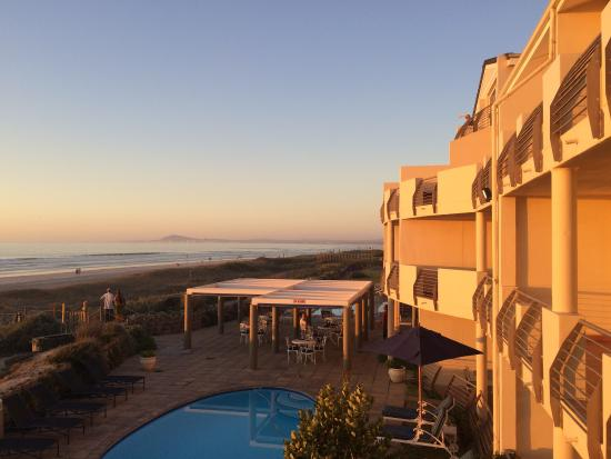 Cape Town Beachfront Apartments at Leisure Bay : View from the corner room.
