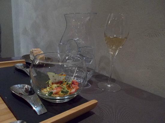 Aromatique Restaurant : Amuse bouche